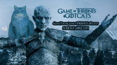 GoTCats – Celebrate the Game of Thrones Premiere